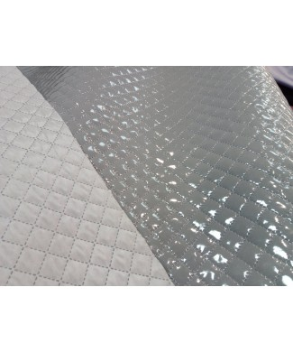 Strech plastificado gris 1.50 ancho