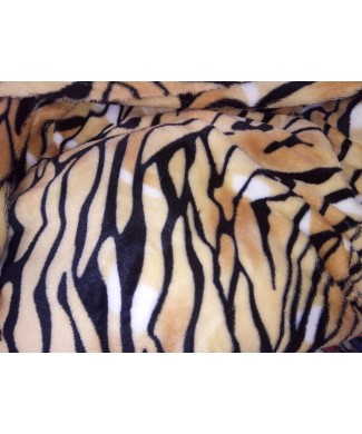 Coralina 100% poliester tigre 1.50 ancho