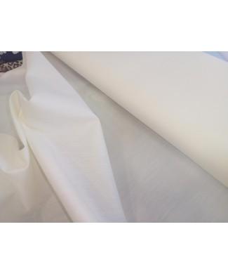 Batista 80 cm de ancho 70% poliester 30% algodón crudo