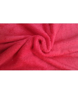Rizo rojo 1.60 ancho 100% algodon