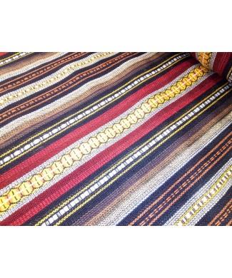 Alpujarra rayas marrones 1.50 de ancho