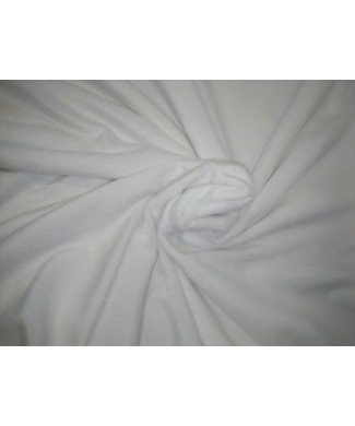 Minky blanco 100% poliester 1,50 ancho