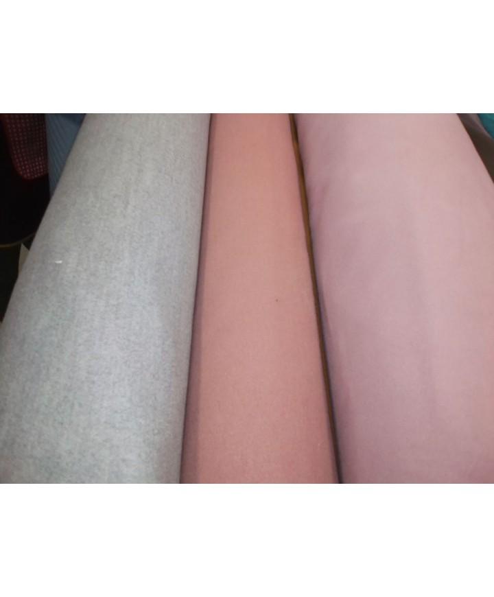 Paño gris perla 90% tes 8% rayon 2% spandex  1.50 de ancho
