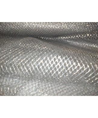 Rejilla glitter plata 1.50 de ancho