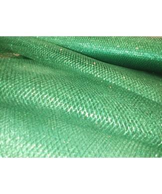 Rejilla glitter verde 1.50 de ancho