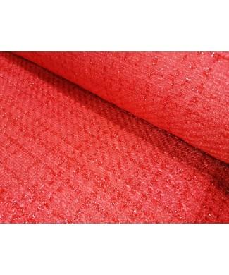 Chanel 100% poliester rojo en 1,50 de ancho