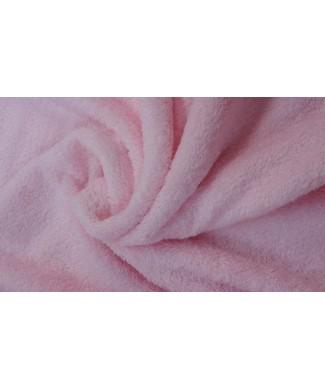 Rizo rosa 1.60 ancho 100%  algodon