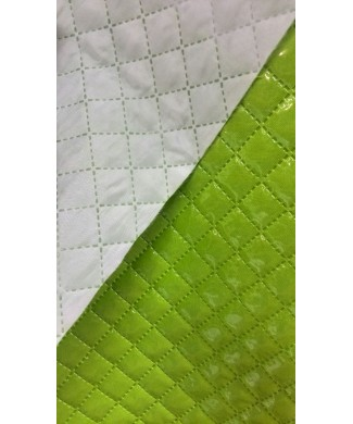 Strech plastificado verde