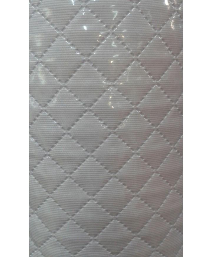Pique plastificado blanco 1.50 ancho