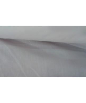 Popelin blanco 1,50 ancho 65% poliester 35%  algodón