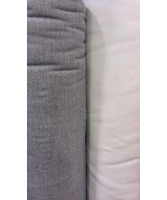 Paño gris marengo 90% tes 8% rayon 2% spandex 1,50 ancho